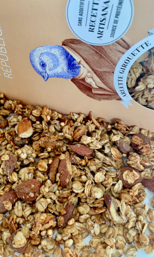 granola bio healthy peanut butter banane MIAM REPUBLIQUE