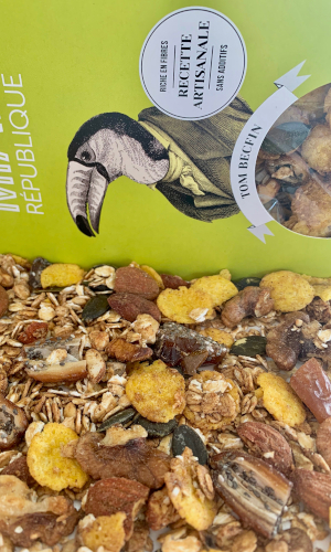 granola bio healthy made in france noix dattes cannelle MIAM REPUBLIQUE